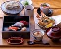 【Lunch】Sushi & Soba Course