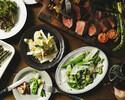 [日本橋・三越前]2時間飲み放題付き! 女子会・デート・接待・様々なシーンで春食材と黒毛和牛のビステッカ・自慢のパスタを楽しめる一皿出しのフルコース