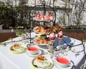【期間限定☆桜といちごのアフターヌーンティー】2時間カフェおかわり自由!季節の桜といちごをふんだんに楽しむ贅沢なプラン¥5280