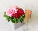 ◆【5/31迄★母の日🌹】パスタコース&デザートはアフタヌーンティースタイル 乾杯酒付き&お花のプレゼント