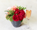 ◆【5/31迄★母の日🌹】ゴージャスコース+乾杯酒+オマール海老・ズワイガニパスタ&お花プレゼント