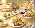 [Cheers with sparkling]  mango Afternoon tea set