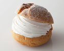 新 和三盆シュークリーム1個 ¥702(税込)