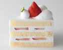 ストロベリーショートケーキ1ピース ¥702(税込)