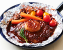 肉汁たっぷりデミグラスハンバーグ(50g)