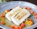 【土日祝限定★ランチコース「KAI」ドリンクバー付き】前菜・パスタ・魚料理と肉料理から選べるメイン・デザートなどフルコース全5皿