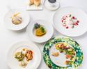 【ランチコース テーブル席】Lusso(ルッソ)4,400円(税込)【料理5品】