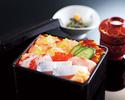 【ランチ】瀬戸内鯛と朝どれ鮮魚の海鮮重