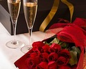 【エテルネル 6大特典付】窓席確約!数量限定!プロポーズに是非!厳選料理にグラスシャンパンとダーズンローズ