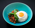 BAI GAPAO & RICE w/ Fried Egg