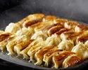 週末【餃子プラン】溢れる肉汁餃子と特製タレホルモン焼き食べ飲み放題プラン
