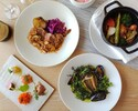 【Four-Course Prix Fixe Lunch】 Main Dish and Dessert to choose - Only on Weekends, Holidays