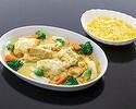 鶏のクリーム煮(4人前)