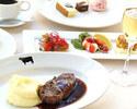 【ランチ】【5月~】メインは21日間熟成アンガスリブステーキ350g!お肉好きにはたまらないボリュームランチ