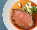 【Four-Course Prix Fixe Lunch】 Roast Beef and Dessert to Choose - Only on Weekends, Holidays
