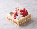 【事前決済】母の日デコレーションショートケーキ(12cm)とカーネーション(1輪)のセット