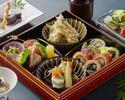 天麩羅付き 贅沢な季節の松花堂御膳