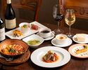 【GW 4/29~5/5】BRUNCH ポルトガルの定番料理を揃えた一番人気の《カタプラーナコース》