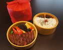 【お出前】網焼ステーキ弁当 『柏木(かしわぎ)』¥4320