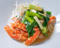Advanced Purchase [Karin] Takeout Snow crab sautéed with leeks and ginger 4,200 yen