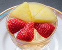 Advanced Purchase [Karin] Takeout Fig jelly with fresh fruit 1,000 yen