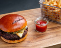 Advanced Purchase [The Steakhouse] Takeout american burger 1,850 yen