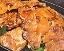 豚バラ生姜焼きランチ