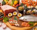 [Sabato, domenica e festivi] Ordina buffet-tavolozza gourmet-fiera estiva di Hokkaido (cena) Adulti