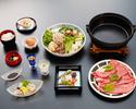 Beef sukiyaki 【lunch time 11: 00 ~ 14: 30】