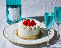 ◆大人/平日【ディナーブッフェ】幸せの青い泡で乾杯+お祝いのケーキ!海と大地の恵み×北海道食材を堪能.