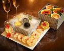 ◆大人/平日【ディナーブッフェ】幸せの青い泡で乾杯+ホールケーキ+キャビア!海と大地の恵み×北海道食材を堪能.
