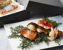 【お取り寄せ】日本料理「校倉」魚の奈良粕漬け詰め合わせ