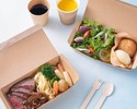 【特選船小屋牛のステーキ 】サラダ、温野菜、特製スープ、パン付き(テイクアウト専用プラン)