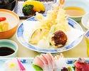 【雲海定食】小鉢、造り、焚合、合肴など