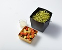 【Take Out】 Lunch Box Summer Vegetables and Octopus, Chilled Genovese Pasta with Tomato Braised