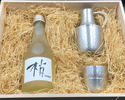 【6/18~6/20 Limited, For Father's Day】Kozue Sake+tin glass set
