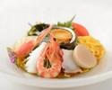 海の幸入り冷麺 (醤油味 または 胡麻味)