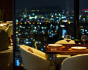 【Anniversary Plan】 Window Side Table / Glass of non alcohol sparkling wine Benefit! Dinner Set Menu + Anniversary Whole Cake