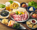 ◆120分飲み放題付ジンギスカン2種食べ比べコース◆
