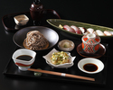【ぬれ縁席】炙り寿司と稲庭蕎麦ランチ【平日限定20食】