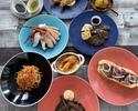 ビーフステーキと牛肉料理&マルズワイ蟹と海老料理食べ放題プラン【サラダバー&ソフトドリンクバー付】
