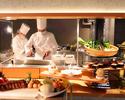 【Lunch】6月30日限定開業の日ランチ 前菜、メイン、デザート+サラダバー全4品