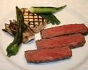 《ディナー》【ボルドーステーキコース】最高級A5山形牛サーロイン含む豪華7品