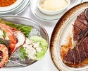 【FUKUOKAコース】メインはTボーンステーキなど 全4品
