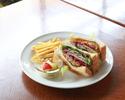 【テイクアウト】ローストビーフ&彩野菜のサンド ランチ