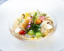 【Lunch】開業1周年記念ランチ メイン+サラダバー 乾杯アルコール付き