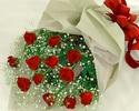 【薔薇の花束】17,325円<お食事のオーダーと一緒にご注文ください。>