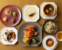 """【Dinner Official Online Special】Free-flowing champagne included! Premium dinner including Chinaroom """"Peking duck"""""""