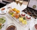 【サマーフルーツのアフタヌーンティー】乾杯酒&おかわり自由のカフェ付き!シェフ特製のキュートなスイーツや軽食など8種