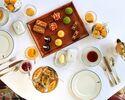 【アフタヌーンティー】コーヒー、紅茶お代わり自由!焼き菓子6種、セイボリーなど